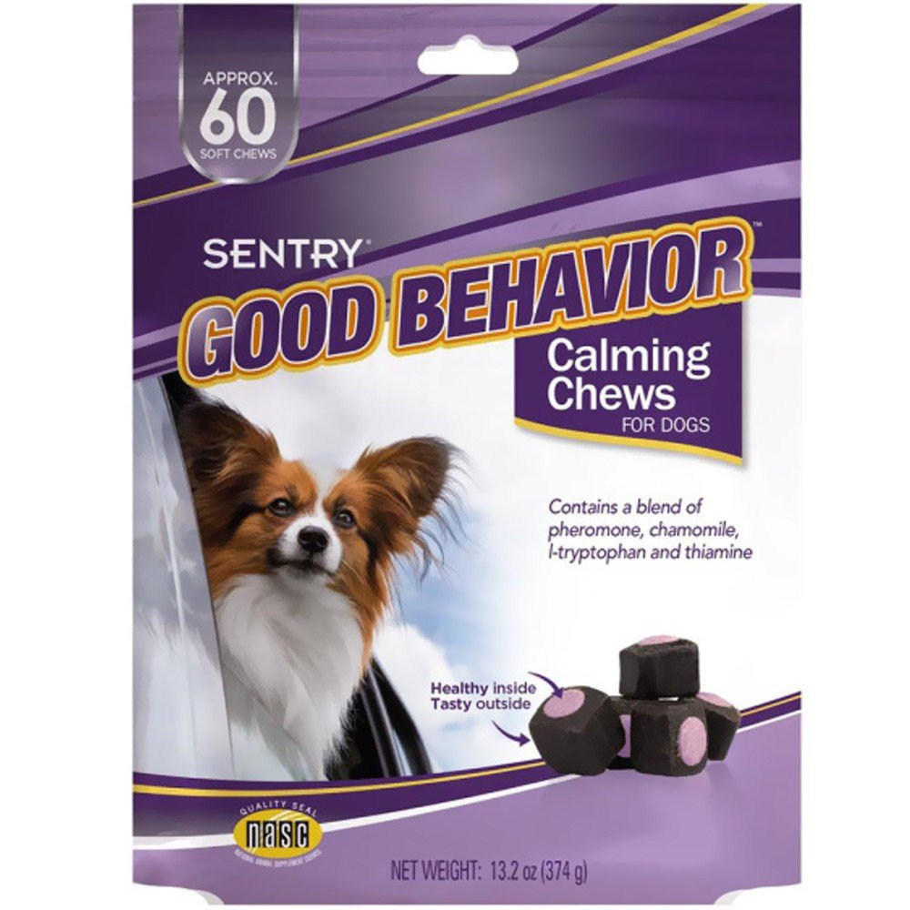 Sergeants Good Behavior Pheromone Technology Calming Dogs and Cats Adjustable 60 count