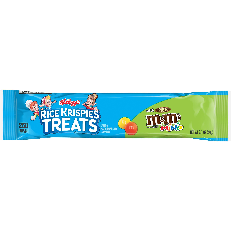 Kellogg's Rice Krispies Treats Crispy Marshmallow Squares with M&Ms Minis 2.1oz