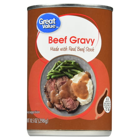 Great Value Beef Gravy, 10.5 oz