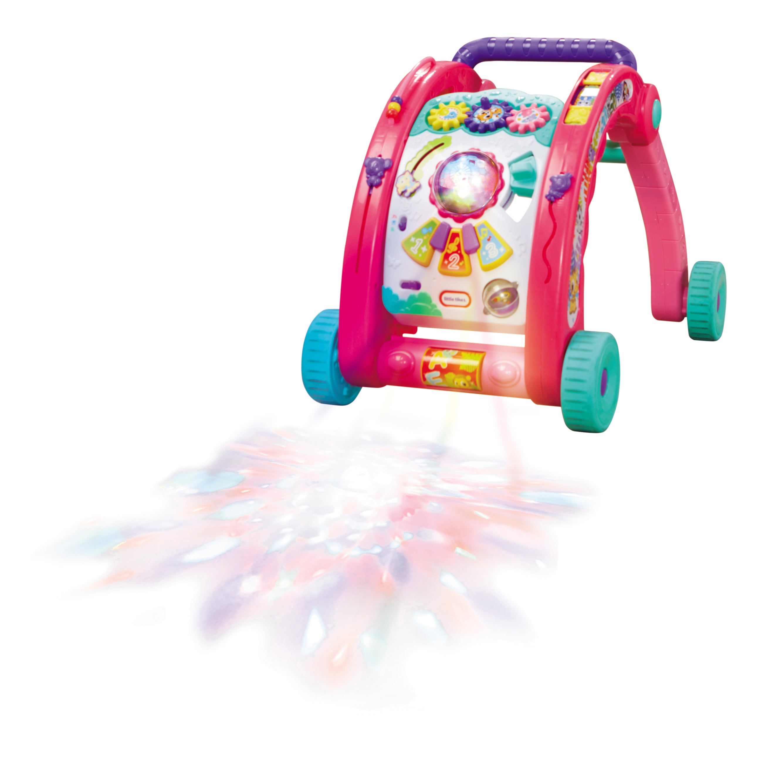 Little Tikes 3-in-1 Activity Walker (pink) by Little Tikes