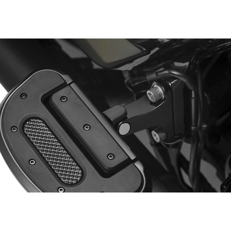 Kuryakyn 8895 Non-Pivot Splined Peg Adaptors - Black