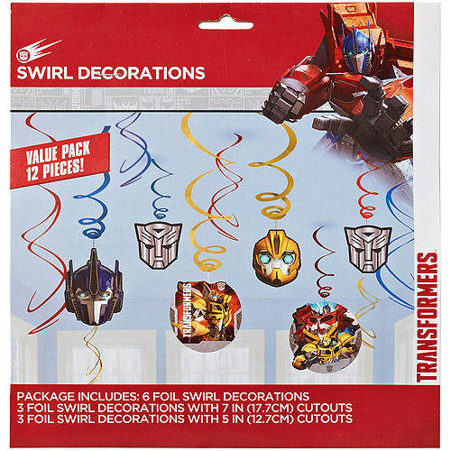 Transformers Hanging Party Decorations, Party Supplies
