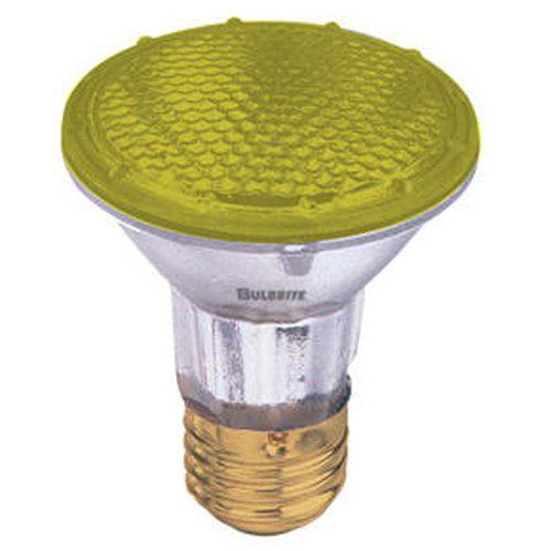 Bulbrite Industries 50W Yellow 120-Volt Halogen Light Bulb (Set of 4)