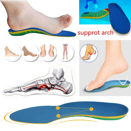 Orthotic Insoles Arch Support Planter Fasciitis Flat Feet Pronation Pad Pair S