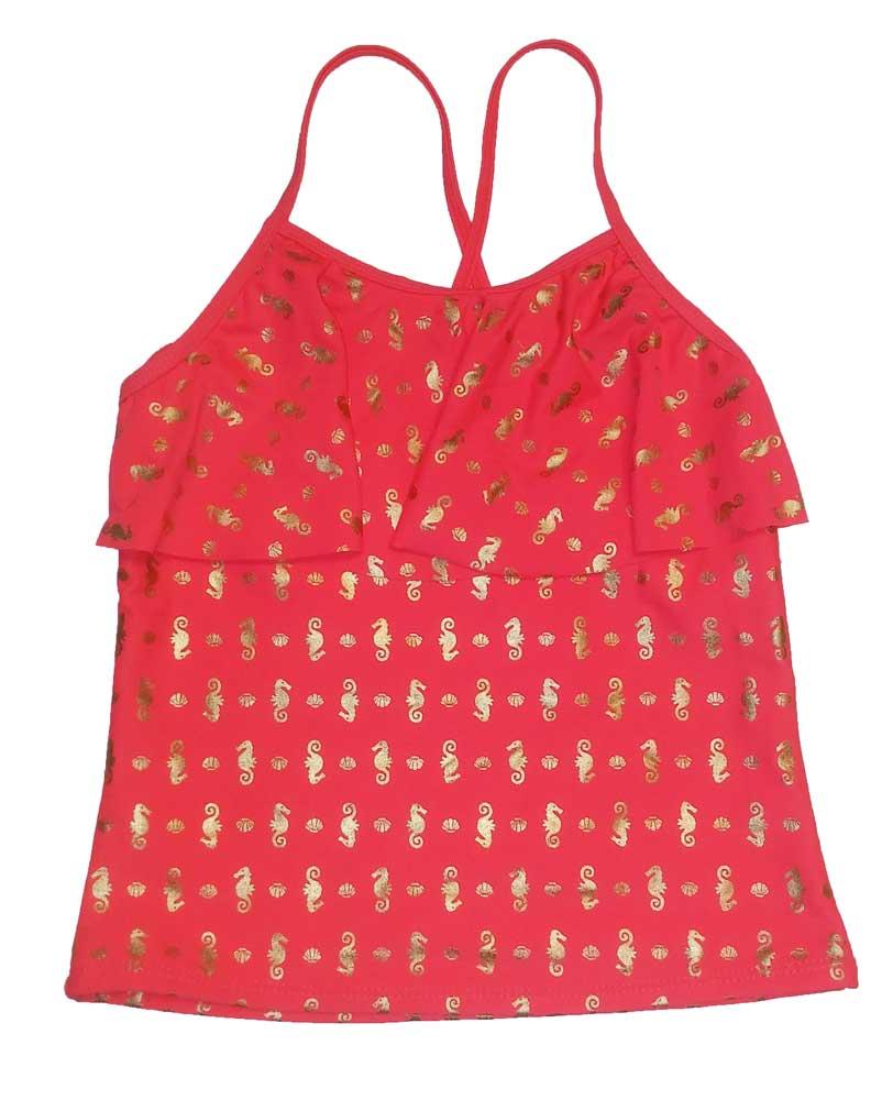SO Girls Swimwear One Piece Tankini Top