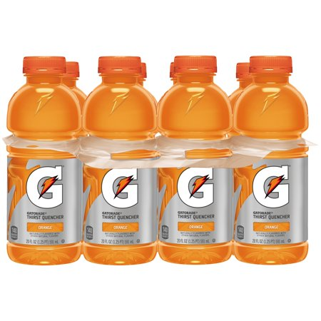 Gatorade Thirst Quencher Sports Drink  Orange  20 Fl Oz  8 Count