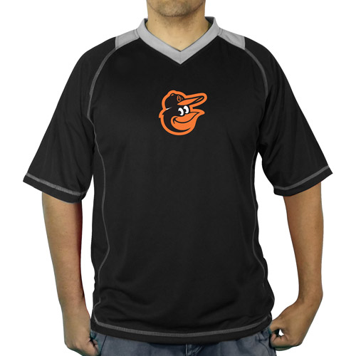 MLB Baltimore Orioles Men's vneck poly jersey