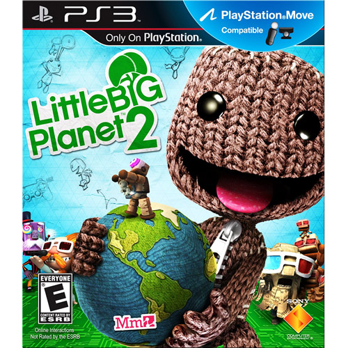 "Little Big Planet 2 w/ Walmart Exclusive ""The Great Gonzo"" Sackboy costume  (PS3)"