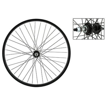 Wheel Rear 26X1.75 Stl Bk 36 Stl Fw 5/6/7Sp Bk 135Mm - Rear Hubcap