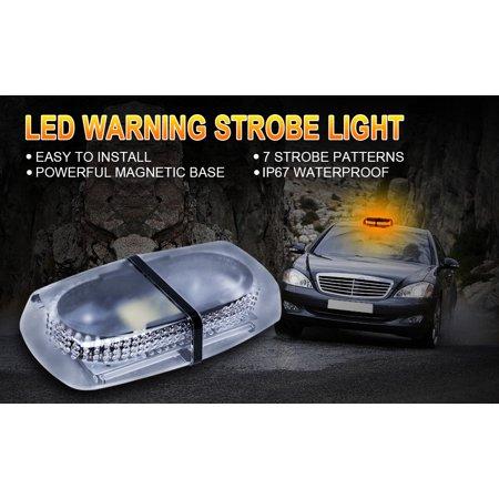 Vehicle Strobe Lights >> 7 Flash Modes Emergency Warning Strobe Light Breakdown Hazard Flash Beacon Lights Bar Caution Warning For Car Vehicle Van Truck Suv 240 Led