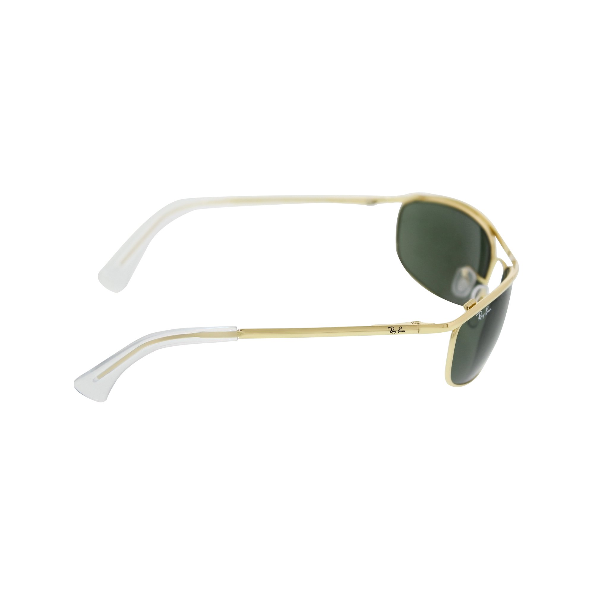 a8070d943d Ray-Ban Men s Olympian RB3119-001-59 Gold Oval Sunglasses