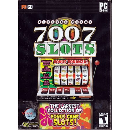 VIRTUAL VEGAS 7007 SLOTS PC CDROM - Over 7,000 of Your Favorite Slots (Includes over 6,000 Bonus Game