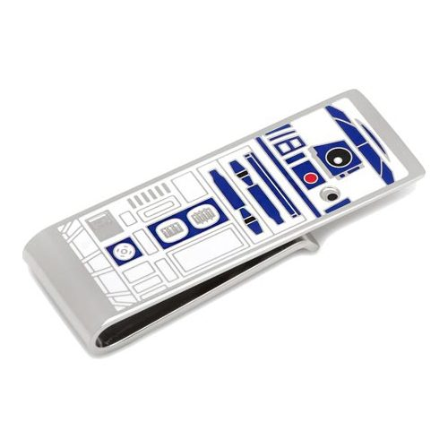 Men's Cufflinks Inc R2D2 Money Clip