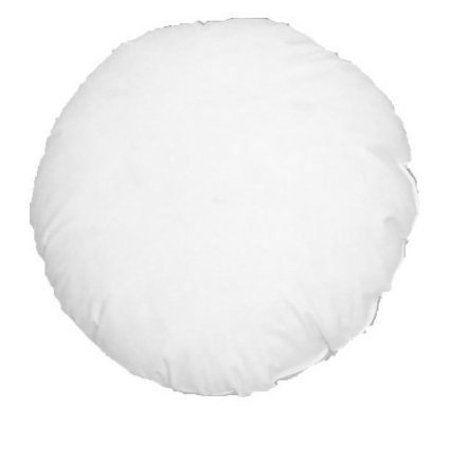 ComfyDown 95% Feather 5% Down, 12 Inch Diameter Round Decorative Pillow Insert, Sham Stuffer - MADE IN USA