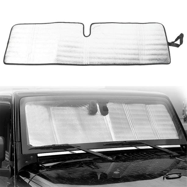 Blocks UV Rays Sun Visor Protector SUVs Trucks and Vans Car Windshield Sun Shade Keeps Your Vehicle Cool Sunshade for Cars 51 x 23inch