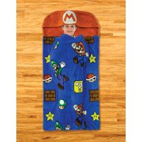 Deals on Super Mario Kids Step-In Blanket, 30 x 54, Mario's Voyage