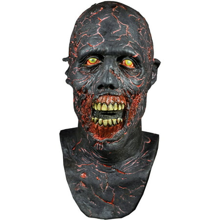 Charred Walker Walking Dead Mask Adult Halloween Accessory