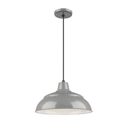 Gy Light - Millennium - RWHC14-GY - One Light Pendant - R Series - Gray