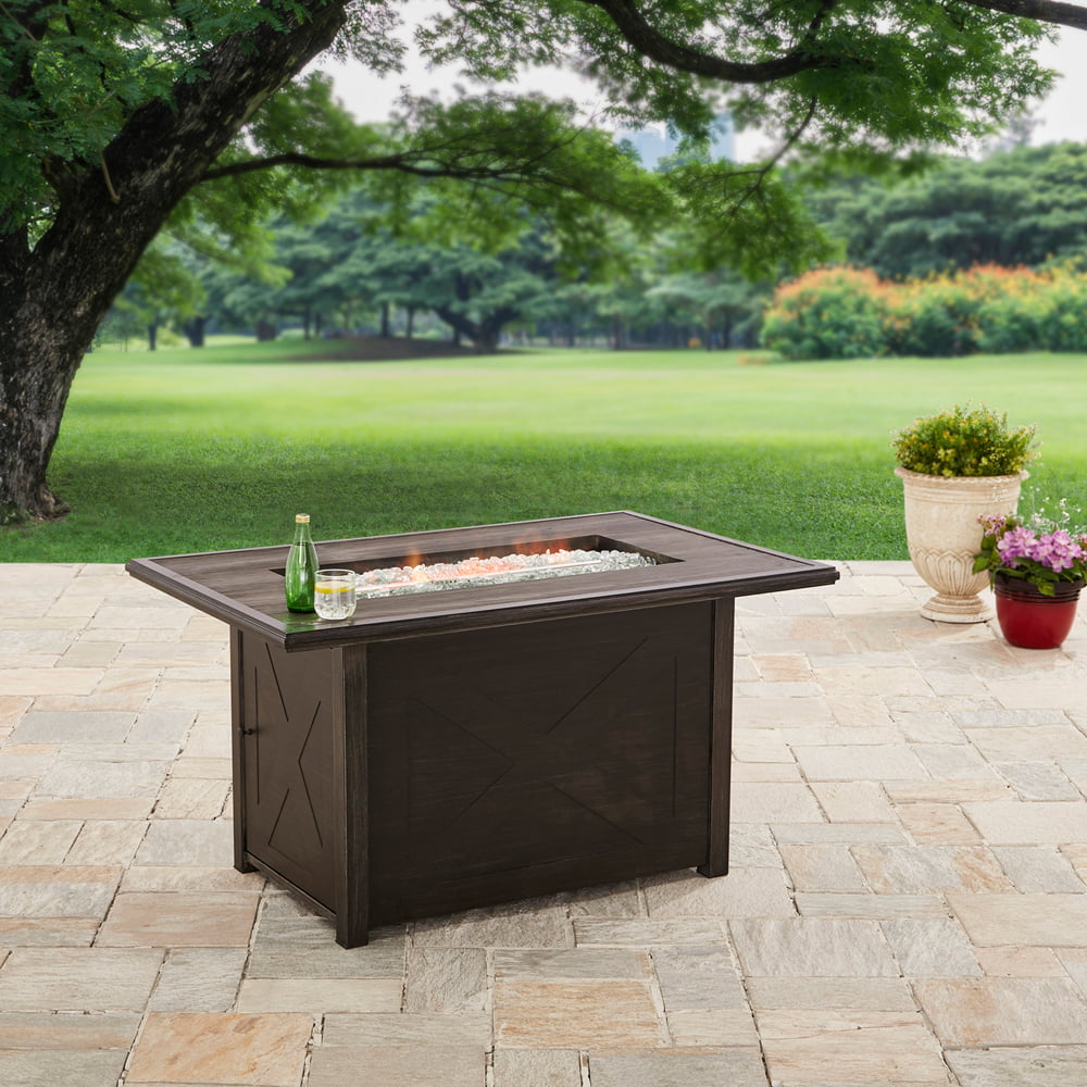 """Better Homes and Gardens 48"""" Rectangle Firepit Gas by CHANGZHOU WELLIFE FURNACE CO LTD"""