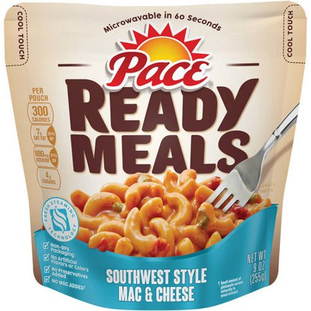 Pace ready meals southwest style mac cheese 9 oz Sw meals