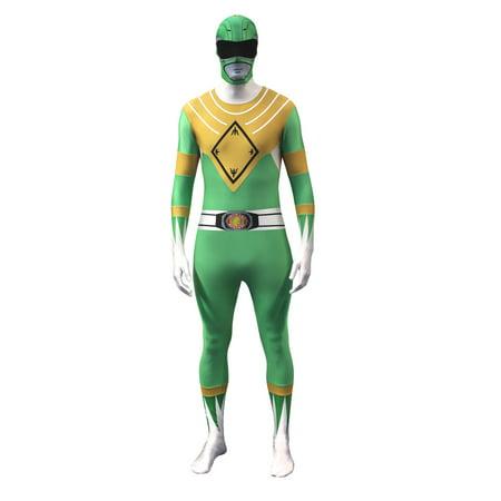 Original Morphsuits Green Power Rangers Adult Suit Character Morphsuit](Power Ranger Suit For Sale)