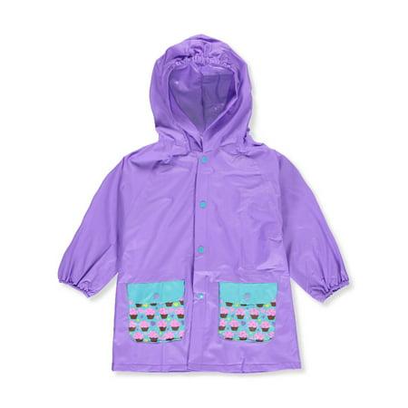 Lilly New York Girls' Rain Jacket - Girls Moto Jacket