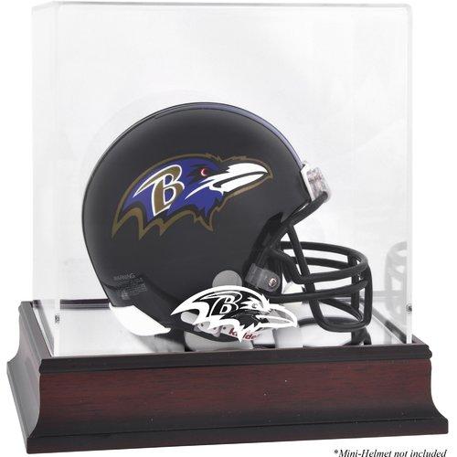 Mounted Memories NFL Logo Mini Helmet Display Case
