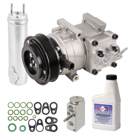 AC Compressor w/ A/C Repair Kit For Ford Fiesta 2011 2012 2013