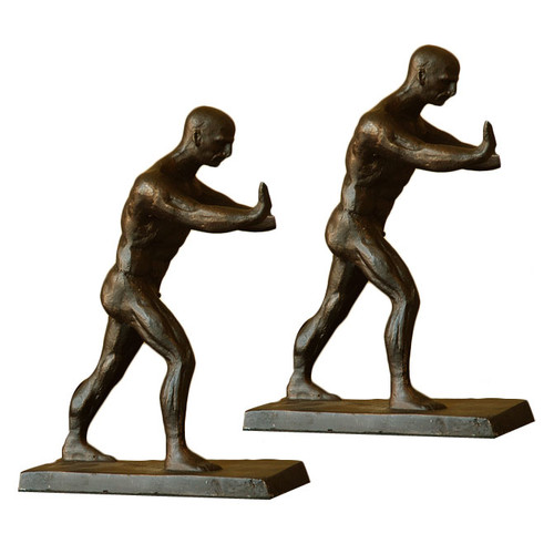 SPI Home Working Men Book Ends (Set of 2)