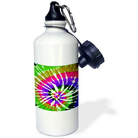 3dRose Tie Dye Art 4, Sports Water Bottle, 21oz - Tie Dye Bottles