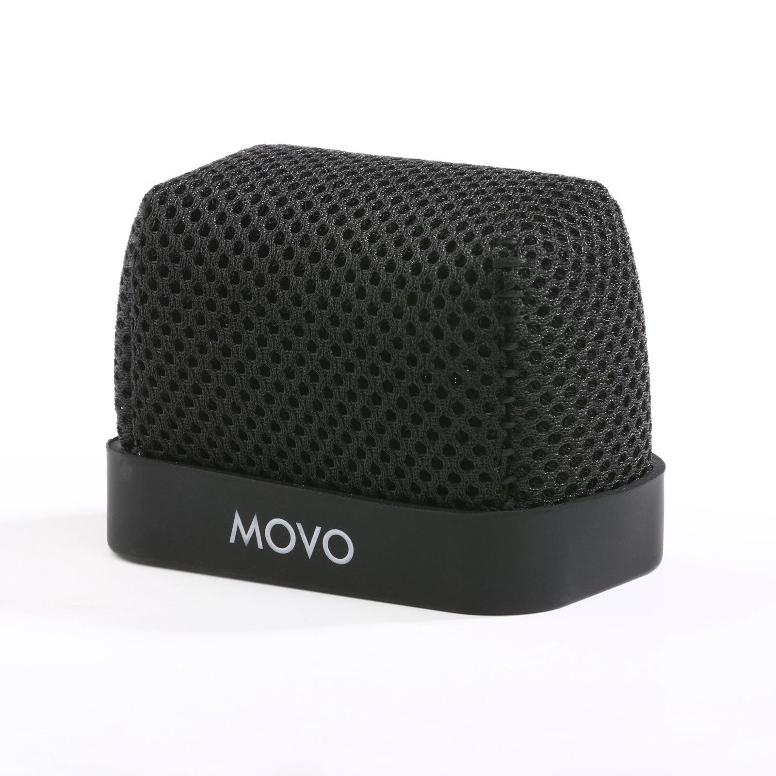 Movo WST-R10 Fitted Nylon Windscreen with Acoustic Foam Technology for Zoom IQ-6, Tascam... by