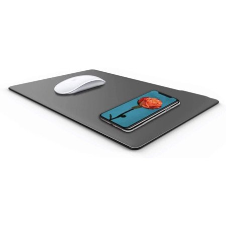 Wireless Mouse Pad 2 in 1 Charger (Brown) - image 1 de 1