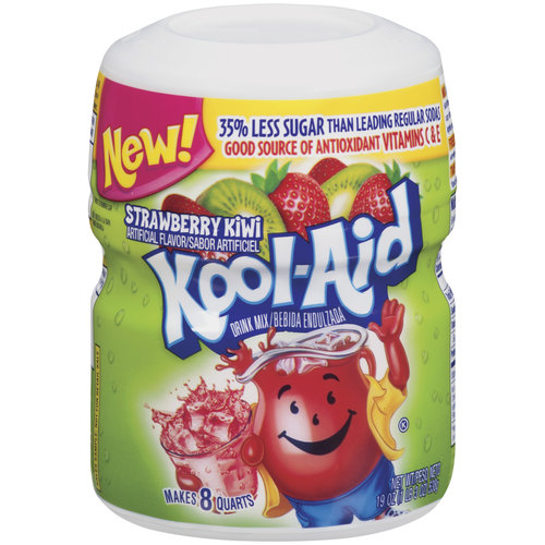 Kool-Aid Strawberry Kiwi Soft Drink Mix, 19 oz