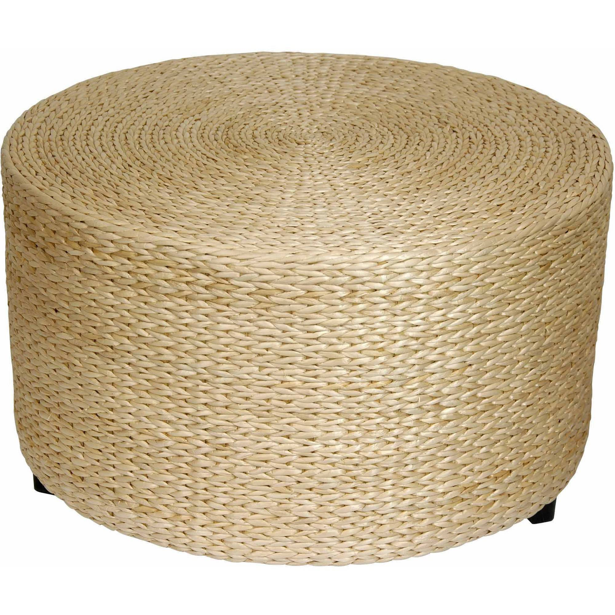 Rush Grass Coffee Table/Ottoman