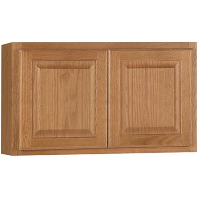CBKW3018-MO Hamilton Kitchen Wall Bridge Cabinet, Oak