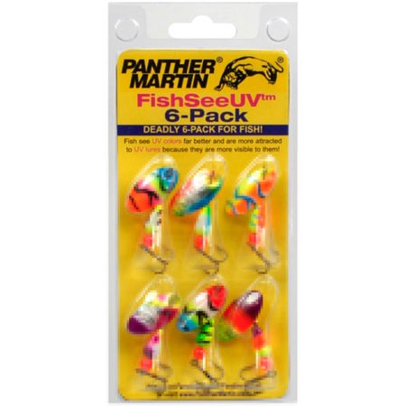 Panther Martin Ultra Violet, 6-Pack