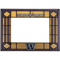 Washington Huskies Art Glass Horizontal Frame - No Size
