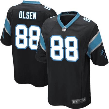 Greg Olsen Carolina Panthers Nike Youth Team Color Game Jersey - Black ()