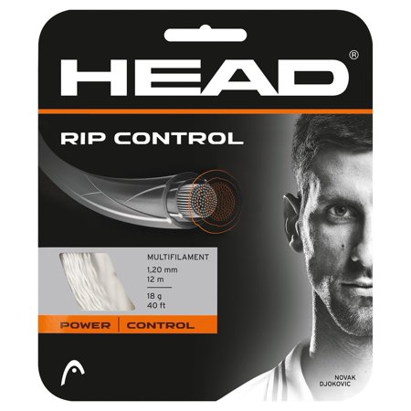 HEAD Rip Control Tennis String (Natural, 18g) Head Perfect Control Tennis String