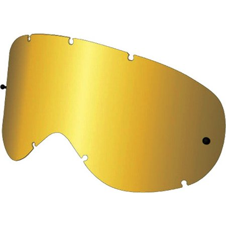 Ionized Goggles - Dragon Alliance Ionized Anti-Fog Lexan Lens for MDX Goggles, Gold Gold Ion