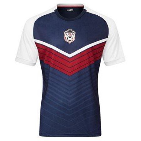 International Soccer T-shirt (Xara International V4 Shirt - USA | 1042USA)