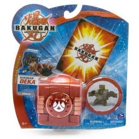 Battle Brawlers Zoack Re, Red/Pyrus Deka Zoack By Bakugan