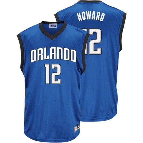 NBA - Dwight Howard Blue #12 NBA Orlando Magic Jersey