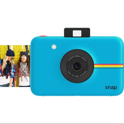 Polaroid Snap Instant Camera (Blue) wih ZINK Zero Ink Printing Technology
