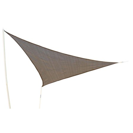 Outsunny Triangle Outdoor Patio 10 Ft Sun Shade Sail Canopy