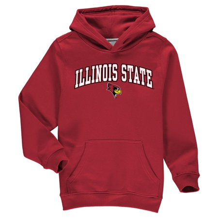 - Illinois State Redbirds Fanatics Branded Youth Campus Pullover Hoodie - Red