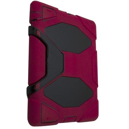 iPad 2/3/4 Heavy Duty Protective Case - Red - image 1 de 4
