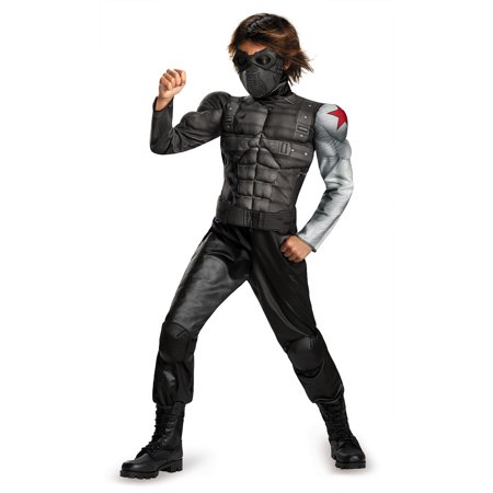Winter Soldier Muscle Child Halloween Costume