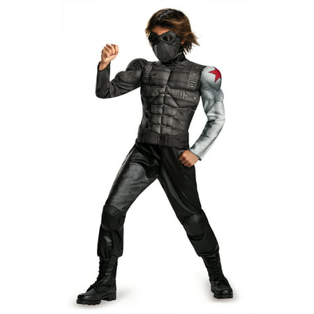 Winter Soldier Muscle Child Halloween Costume](Spirit Halloween Winter Park)