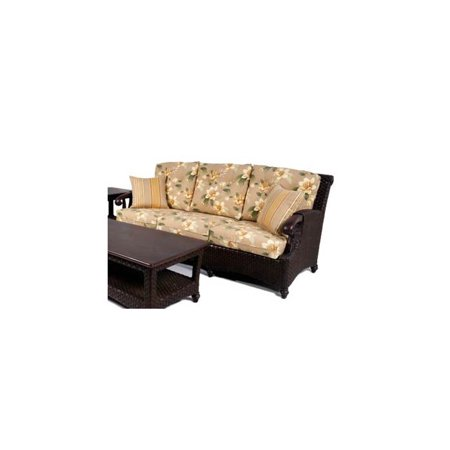 Riviera Rattan Sofa in Chestnut (655)